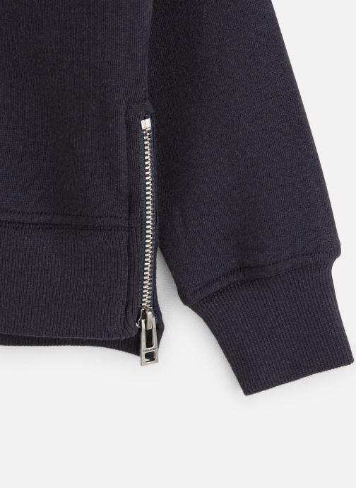 Vêtements Zadig & Voltaire Sweat X15163 Bleu vue portées chaussures