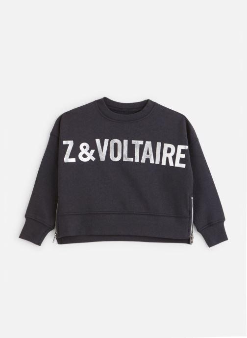 Kleding Zadig & Voltaire Sweat X15163 Blauw detail