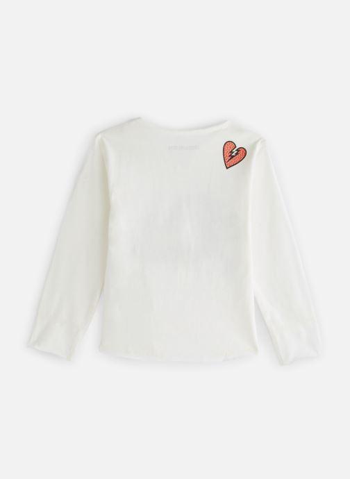 Vêtements Zadig & Voltaire T-shirt X15175 Blanc vue bas / vue portée sac