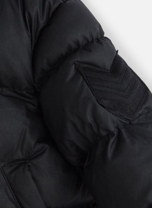 Vêtements Zadig & Voltaire Doudoune X16041 Noir vue portées chaussures