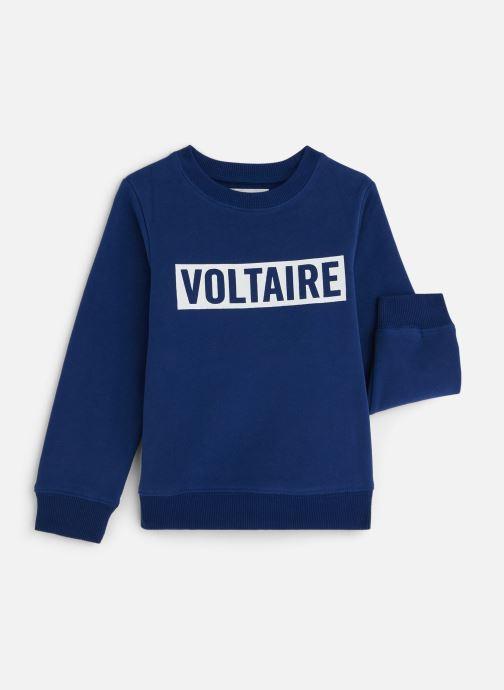 Vêtements Zadig & Voltaire Sweat X25157 Bleu vue détail/paire