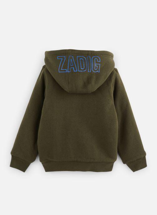 Vêtements Zadig & Voltaire Sweat X25159 Vert vue bas / vue portée sac