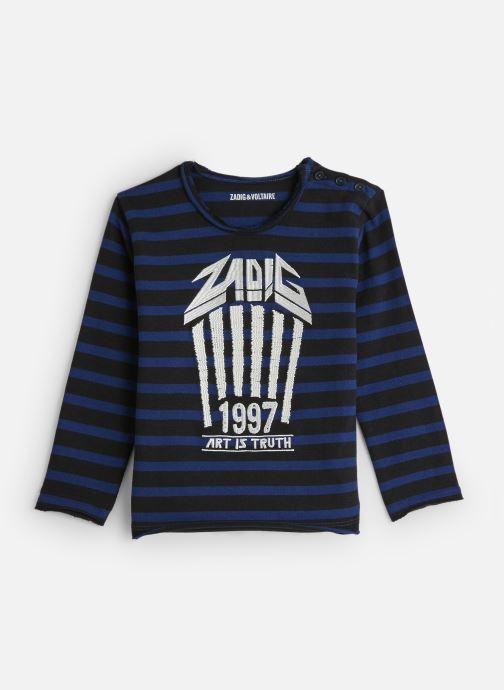 Vêtements Zadig & Voltaire Sweat X25166 Noir vue détail/paire