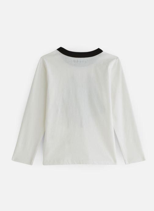 Vêtements Zadig & Voltaire T-shirt X25168 Blanc vue bas / vue portée sac