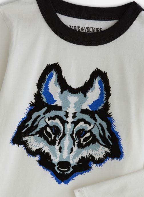Kleding Zadig & Voltaire T-shirt X25168 Wit model