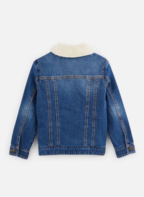 Vêtements Zadig & Voltaire Veste X26021 Bleu vue bas / vue portée sac