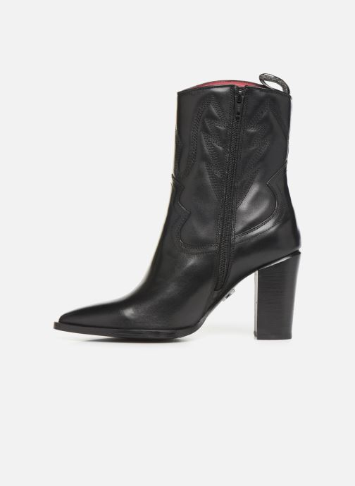 Bottines et boots Bronx NEW AMERICANA Noir vue face