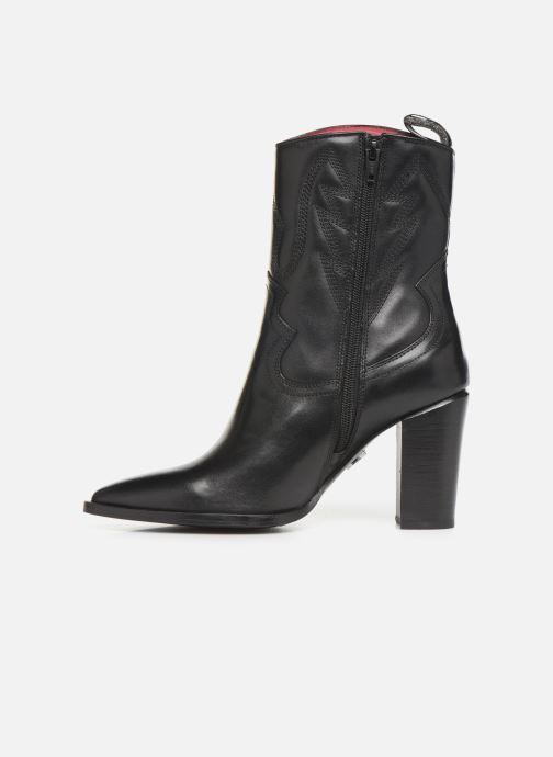 Boots en enkellaarsjes Bronx NEW AMERICANA Zwart voorkant