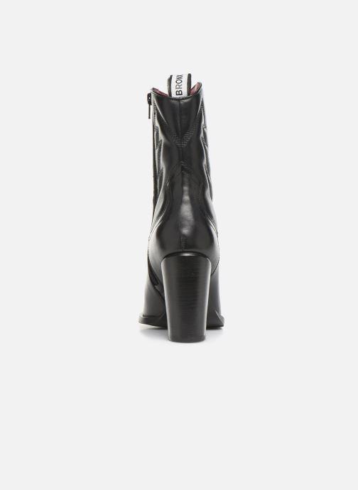 Bottines et boots Bronx NEW AMERICANA Noir vue droite