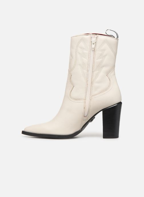 Bottines et boots Bronx NEW AMERICANA Blanc vue face