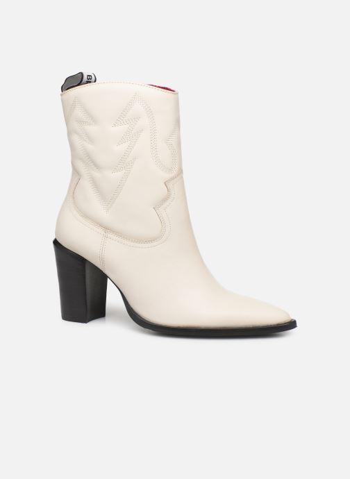 Bottines et boots Bronx NEW AMERICANA Blanc vue détail/paire