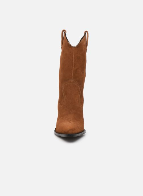 Bottines et boots Bronx NEW KOLE Marron vue portées chaussures