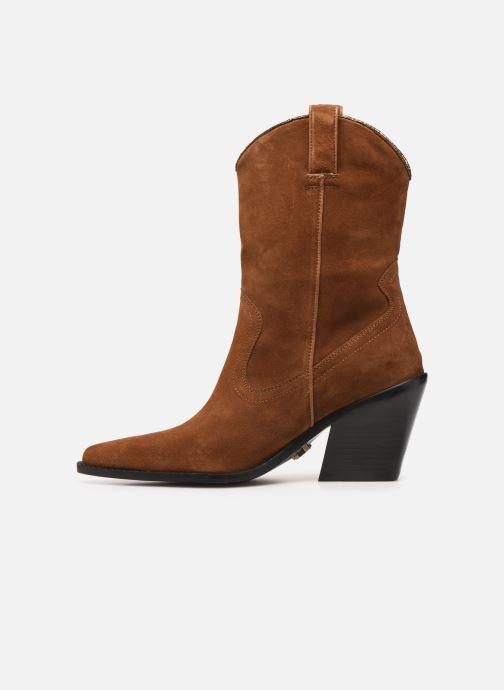 Bottines et boots Bronx NEW KOLE Marron vue face