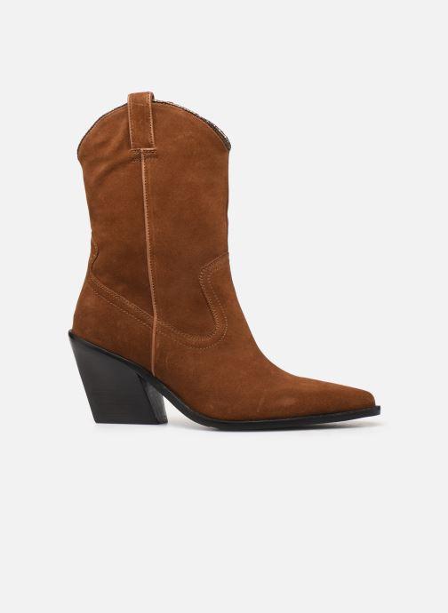 Boots en enkellaarsjes Bronx NEW KOLE Bruin achterkant