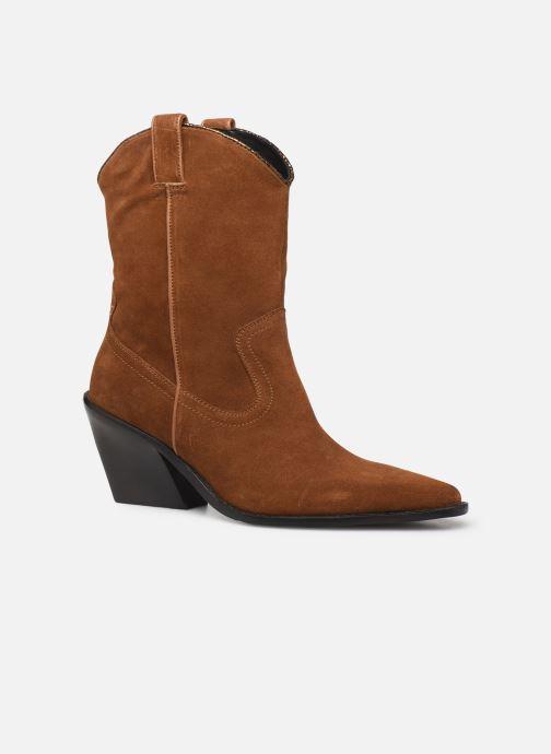 Bottines et boots Bronx NEW KOLE Marron vue détail/paire