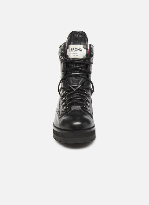 Bottines et boots Bronx GAMLETT Noir vue portées chaussures