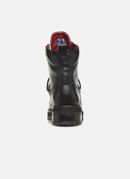 Bottines et boots Bronx GAMLETT Noir vue droite