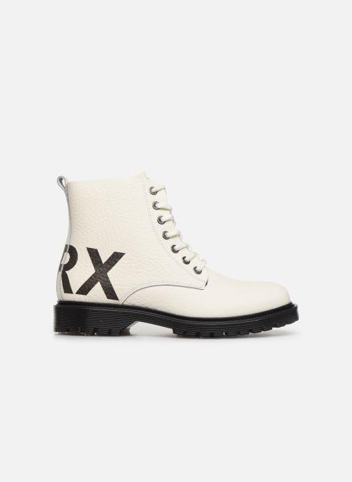 Bottines et boots Bronx RIFKA CHUNKY Blanc vue derrière
