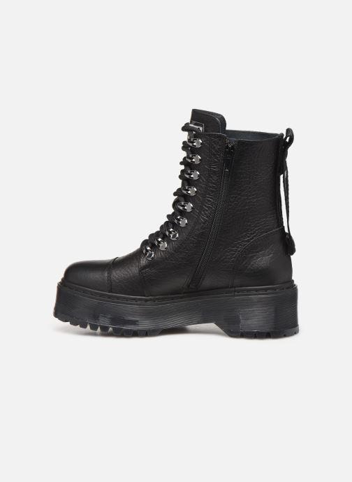 Boots en enkellaarsjes Bronx RIFKA SUPER CHUNKY Zwart voorkant