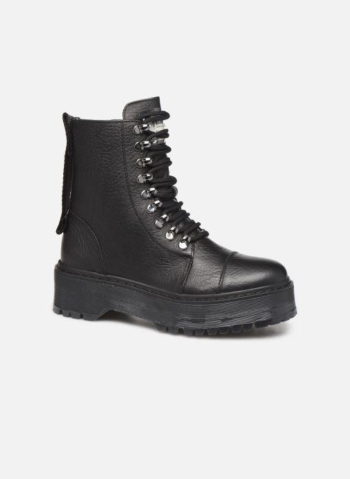 Boots en enkellaarsjes Bronx RIFKA SUPER CHUNKY Zwart detail
