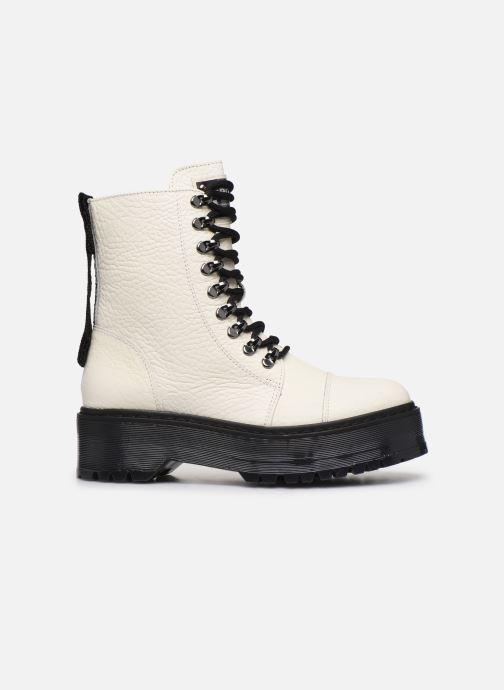 Bottines et boots Bronx RIFKA SUPER CHUNKY Blanc vue derrière