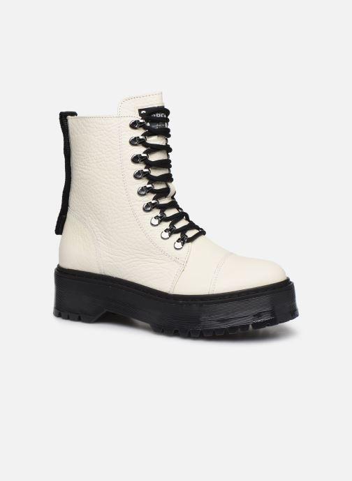 Bottines et boots Bronx RIFKA SUPER CHUNKY Blanc vue détail/paire