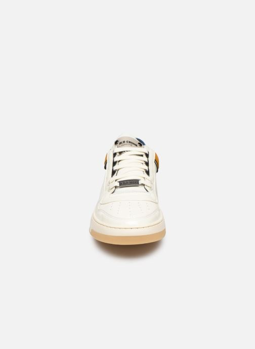 Baskets Bronx OLD COSMO Blanc vue portées chaussures
