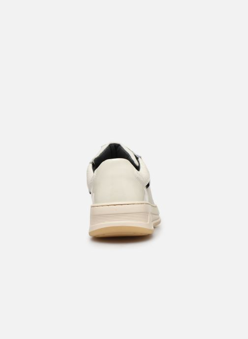 Baskets Bronx OLD COSMO Blanc vue droite