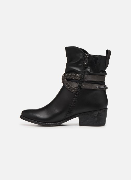 Ankle boots Marco Tozzi 2-2-25043-33 Black front view