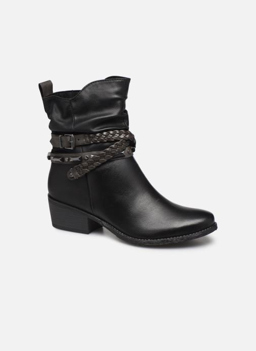 Ankle boots Marco Tozzi 2-2-25043-33 Black detailed view/ Pair view