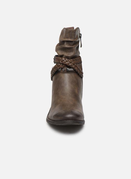 Stiefeletten & Boots Marco Tozzi 2-2-25043-33 braun schuhe getragen