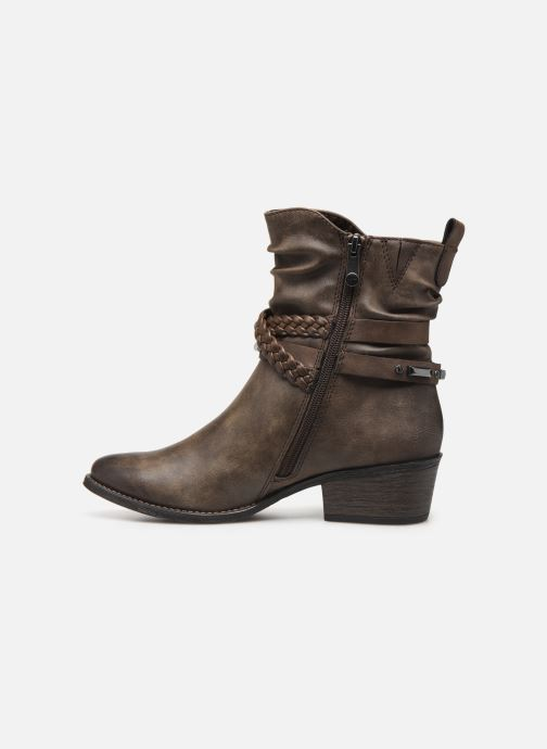 Boots en enkellaarsjes Marco Tozzi 2-2-25043-33 Bruin voorkant