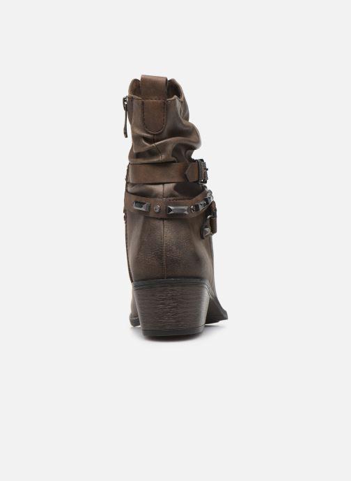 Boots en enkellaarsjes Marco Tozzi 2-2-25043-33 Bruin rechts