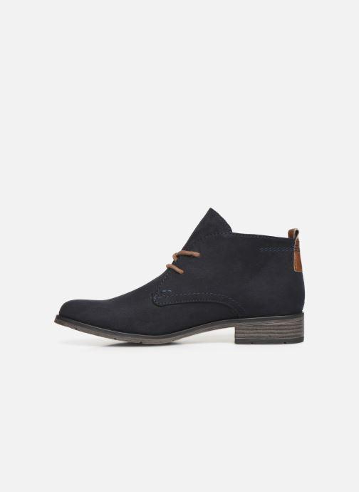 Bottines et boots Marco Tozzi 2-2-25101-31-301 Bleu vue face