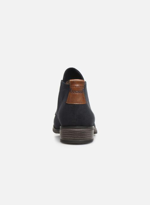 Stiefeletten & Boots Marco Tozzi 2-2-25101-31-301 blau ansicht von rechts