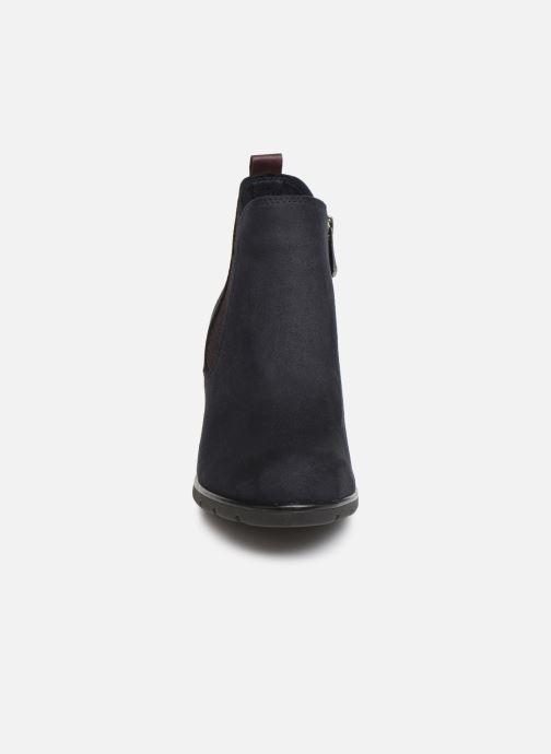Bottines et boots Marco Tozzi 2-2-25355-33 840 Bleu vue portées chaussures