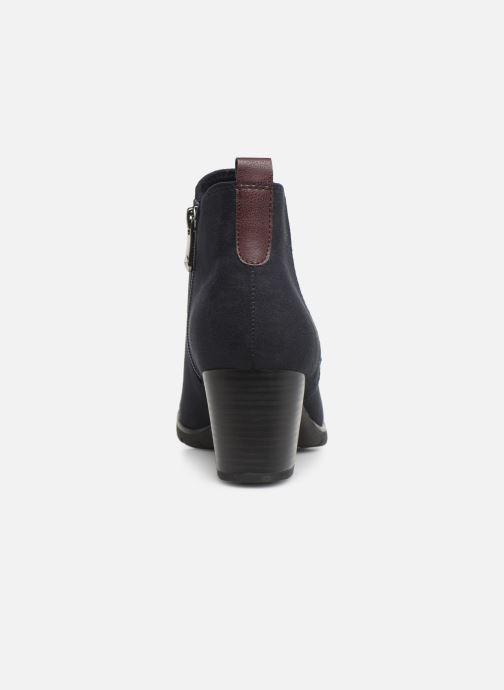 Bottines et boots Marco Tozzi 2-2-25355-33 840 Bleu vue droite