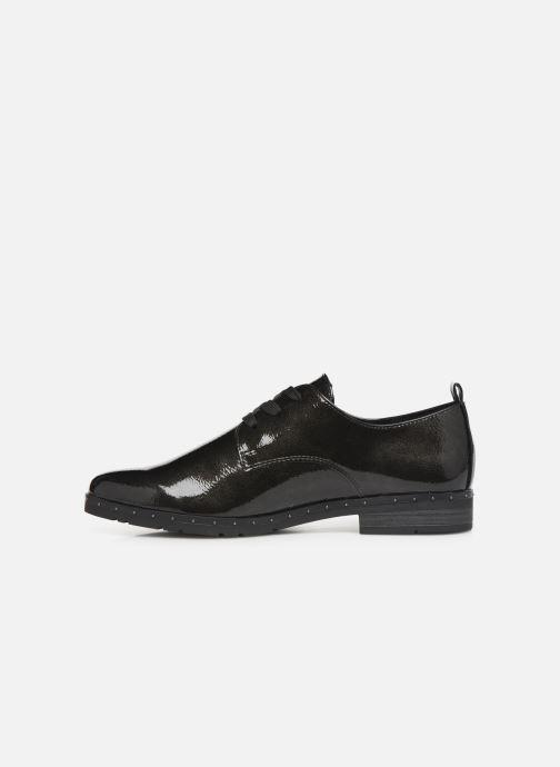 Zapatos con cordones Marco Tozzi 2-2-23201-23 Negro vista de frente