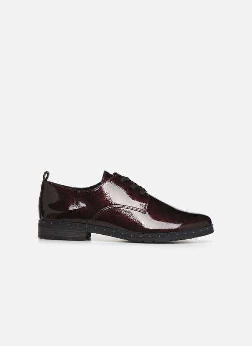 Zapatos con cordones Marco Tozzi 2-2-23201-23 Vino vistra trasera