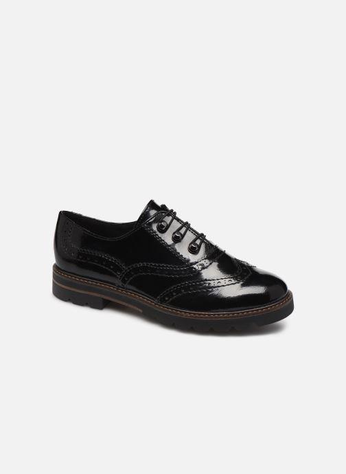 Zapatos con cordones Marco Tozzi 2-2-24700-23 018 Negro vista de detalle / par