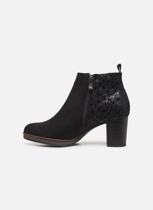 Boots en enkellaarsjes Marco Tozzi 2-2-25358-23 098 Zwart voorkant