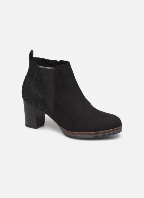 Boots en enkellaarsjes Marco Tozzi 2-2-25358-23 098 Zwart detail