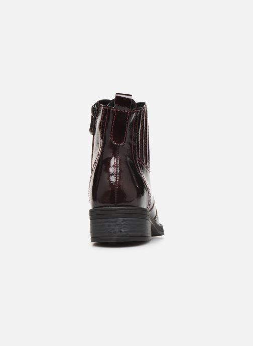 Ankle boots Marco Tozzi 2-2-25115-23 Burgundy view from the right