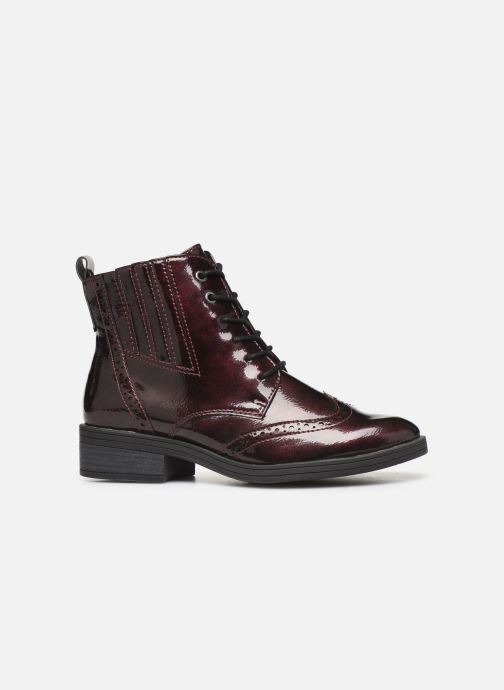 Ankle boots Marco Tozzi 2-2-25115-23 Burgundy back view
