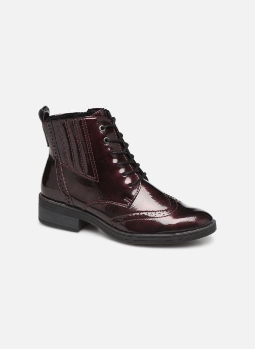 Ankle boots Marco Tozzi 2-2-25115-23 Burgundy detailed view/ Pair view