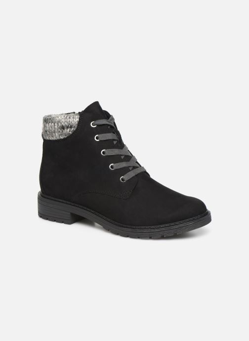 Boots en enkellaarsjes Marco Tozzi 2-2-25202-23 098 Zwart detail