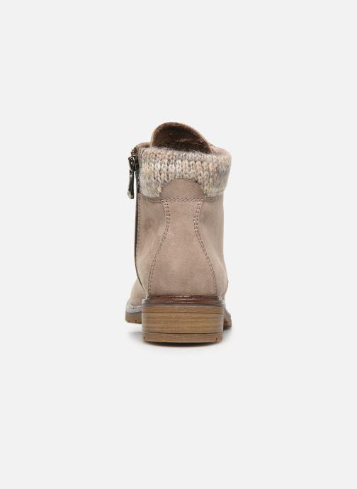 Bottines et boots Marco Tozzi 2-2-25202-23 378 Beige vue droite