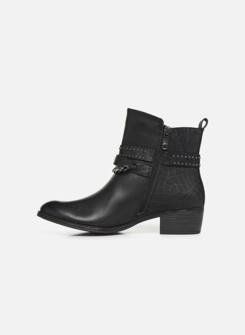 Ankle boots Marco Tozzi 2-2-25306-33 Black front view
