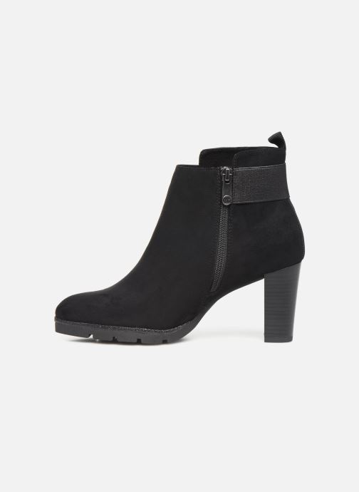 Ankle boots Marco Tozzi 2-2-25485-23 001 Black front view