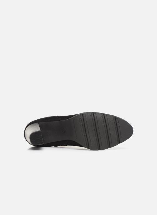Stiefeletten & Boots Marco Tozzi 2-2-25485-23 001 schwarz ansicht von oben